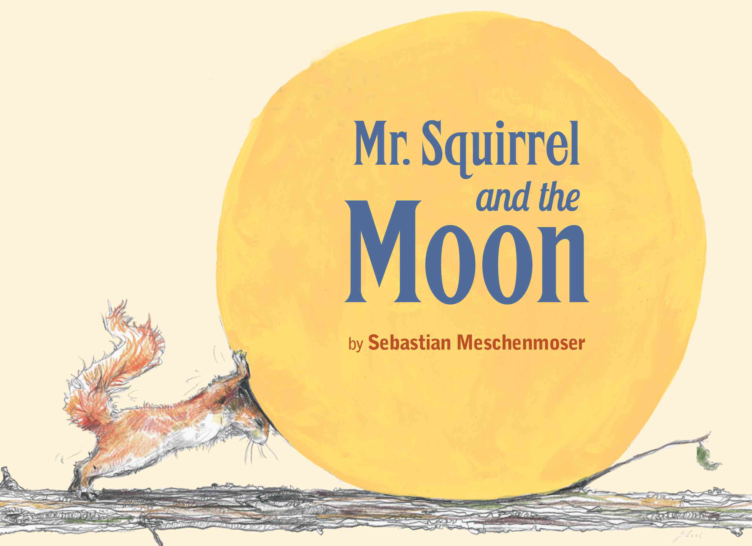 Mr Squirrel & the Moon By Meschenmoser, Sebastian